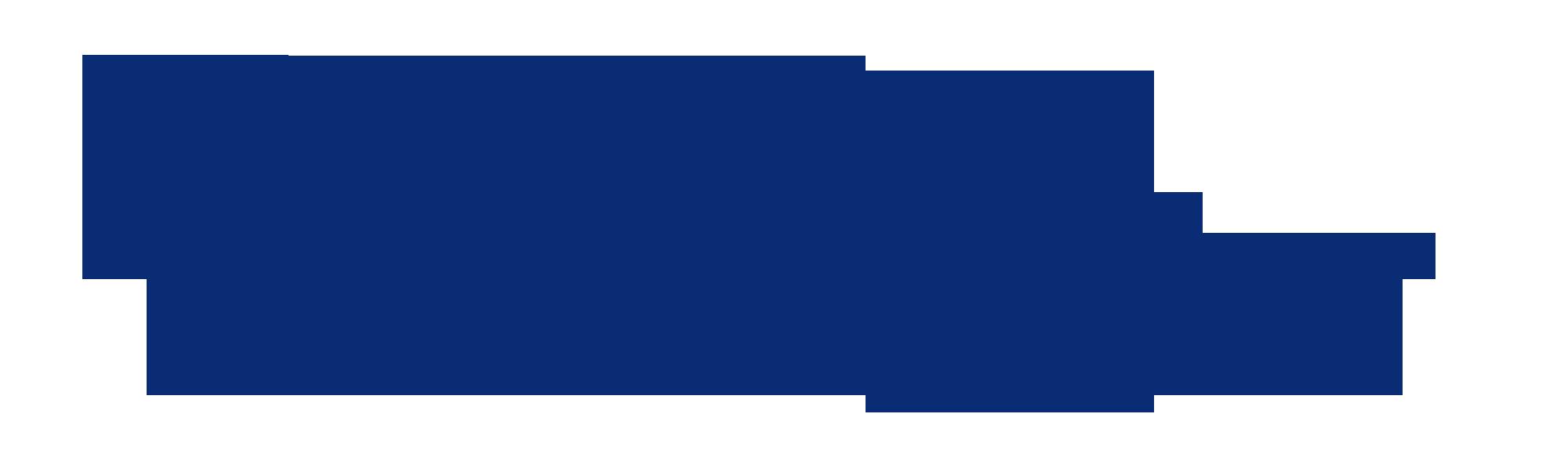 DM meny logo blå